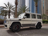 Mercedes G63 AMG in Dubai