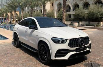 Mercedes GLE 55 AMG Coupe