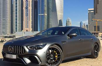 Mercedes AMG GT 63 S 4MATIC+ 4-Door Coupé