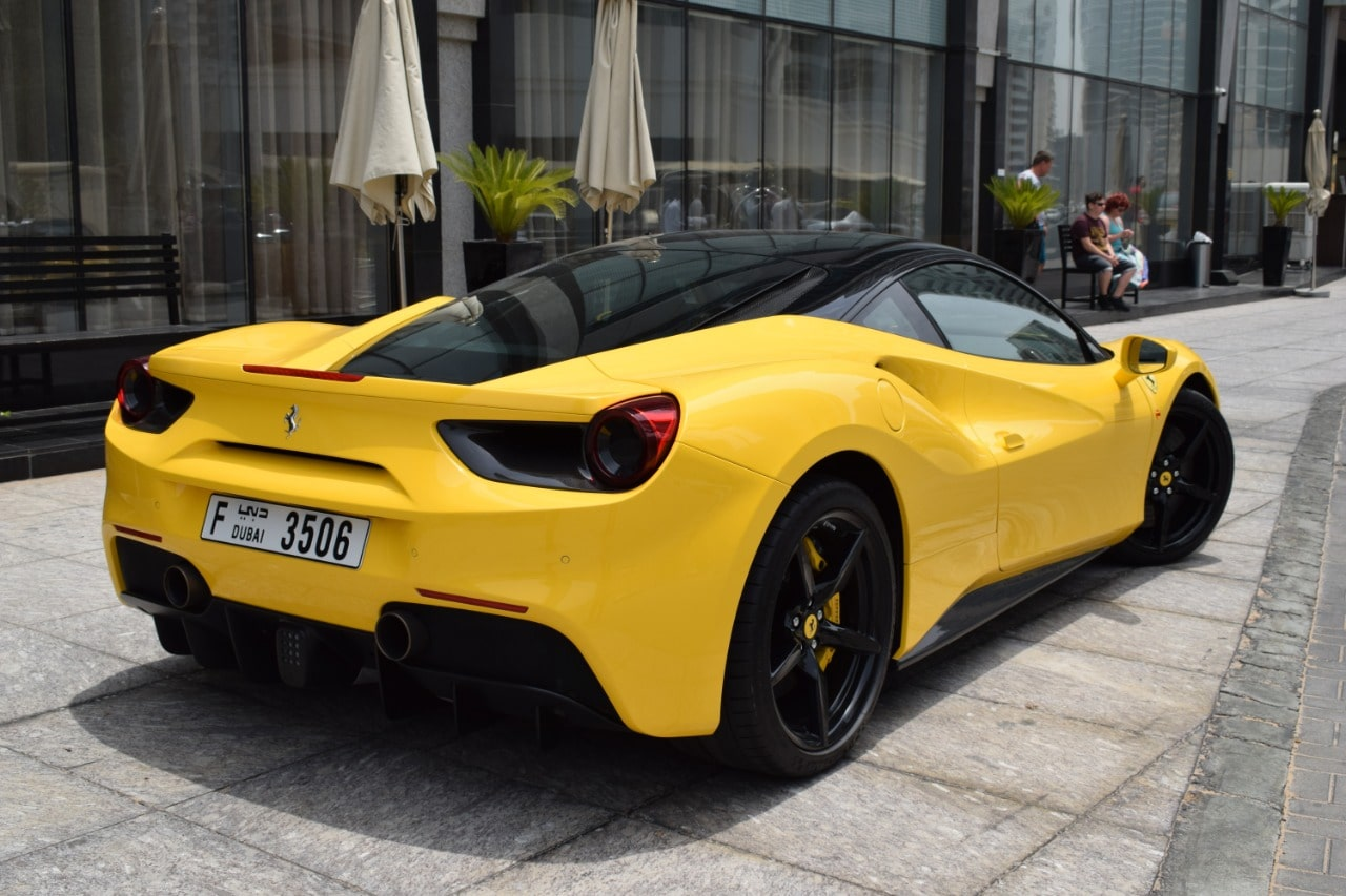 Ferrari 488 Gtb Hire In Dubai